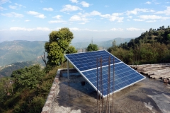 1.2 kW solar-wind hybrid system in Mityal, Palpa