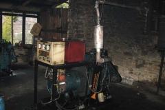 Normal diesel generator use in Okhaldhunge Community Hospital.