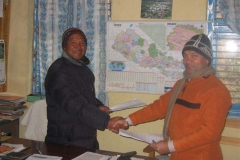 MoU between PEEDA and Okhaldhunga Community Hospital (OCH).