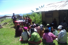 Group-discussion-with-local-residents-for-Solar-dryer-in-Bhutan