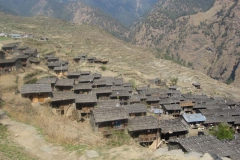 Gatlang, a Tamang village in Rasuwa District, Nepal.
