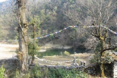 Parvati Kunda, It is a holy place of Hindus and Buddhists alike.