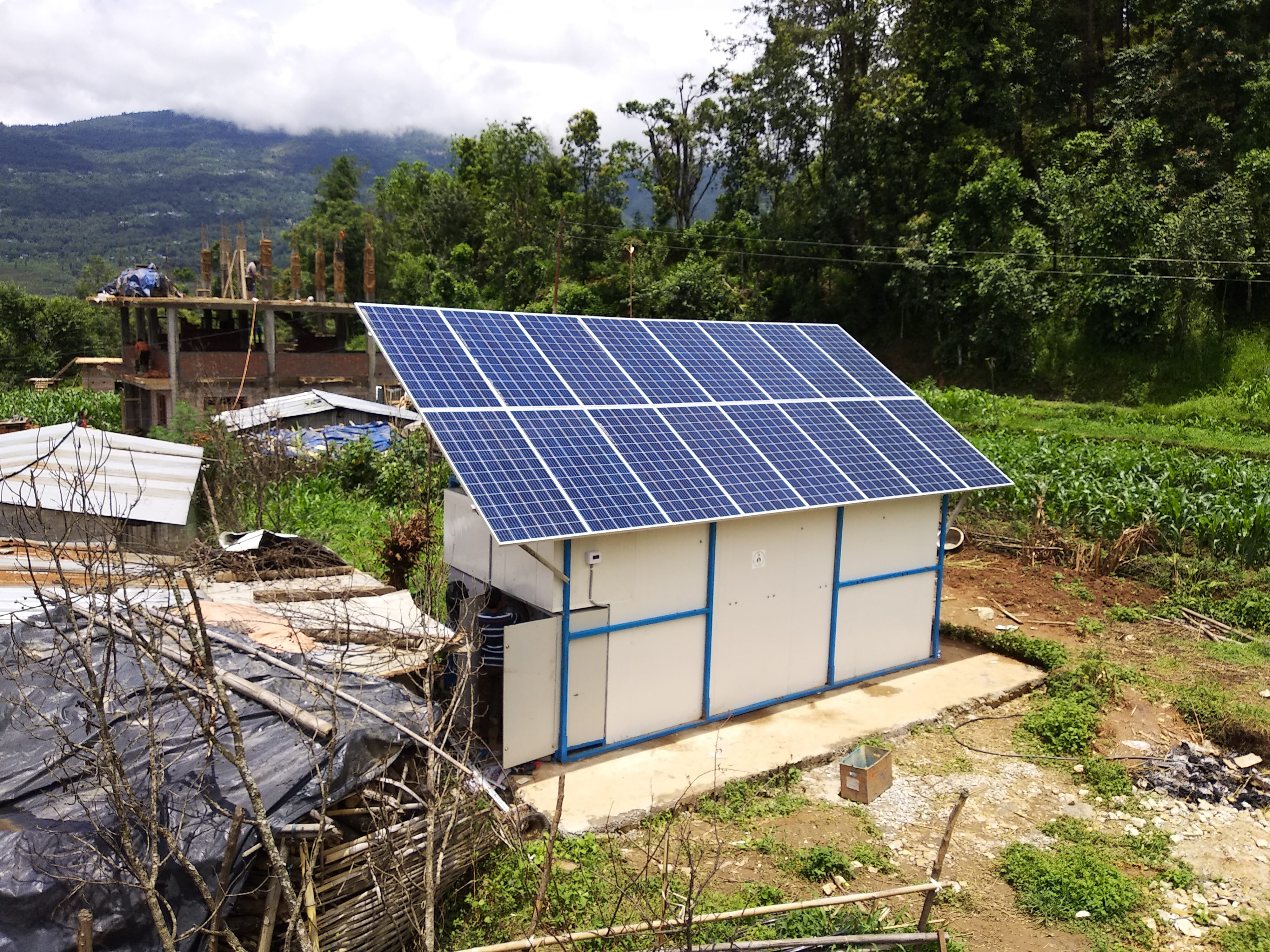 Improving Agricultural Profitability with Solar Powered Mobile Cold Storage for Small Farm Holders & Improving Agricultural Profitability with Solar Powered Mobile Cold ...